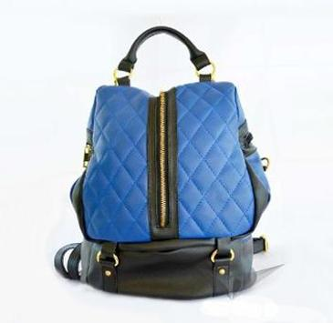 design of women's backpack screenshot 3