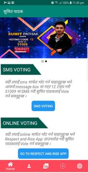 Vote For Sumit Pathak poster