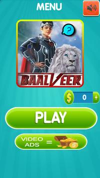 BaalVeer Returns Game Quiz Guess The Character poster