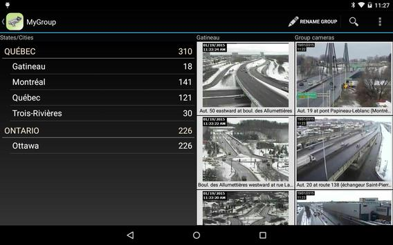 Quebec Traffic Cameras screenshot 13