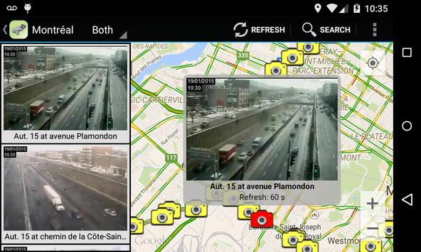 Quebec Traffic Cameras screenshot 2