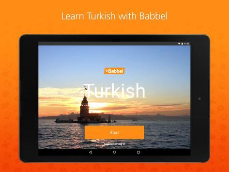 Babbel – Learn Turkish screenshot 5