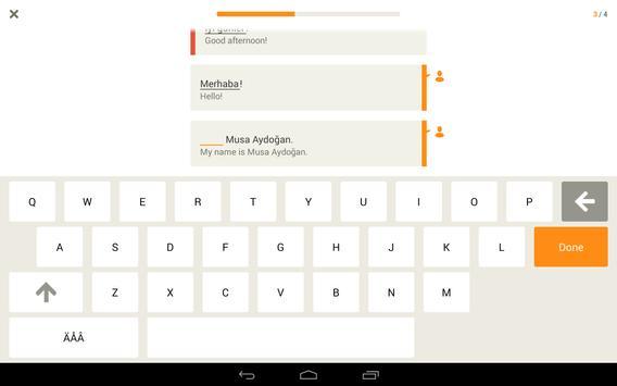 Babbel – Learn Turkish screenshot 8