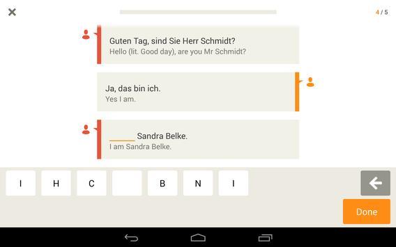 Babbel – Learn German screenshot 11