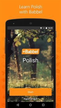 Babbel – Learn Polish poster