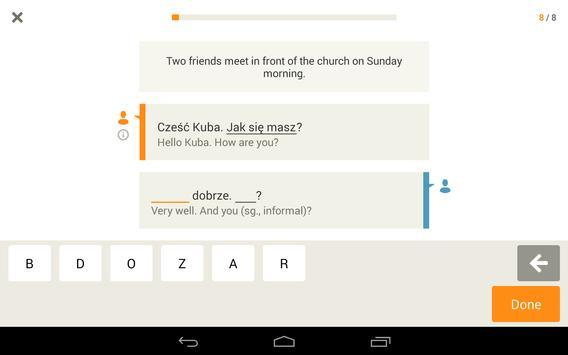 Babbel – Learn Polish screenshot 13