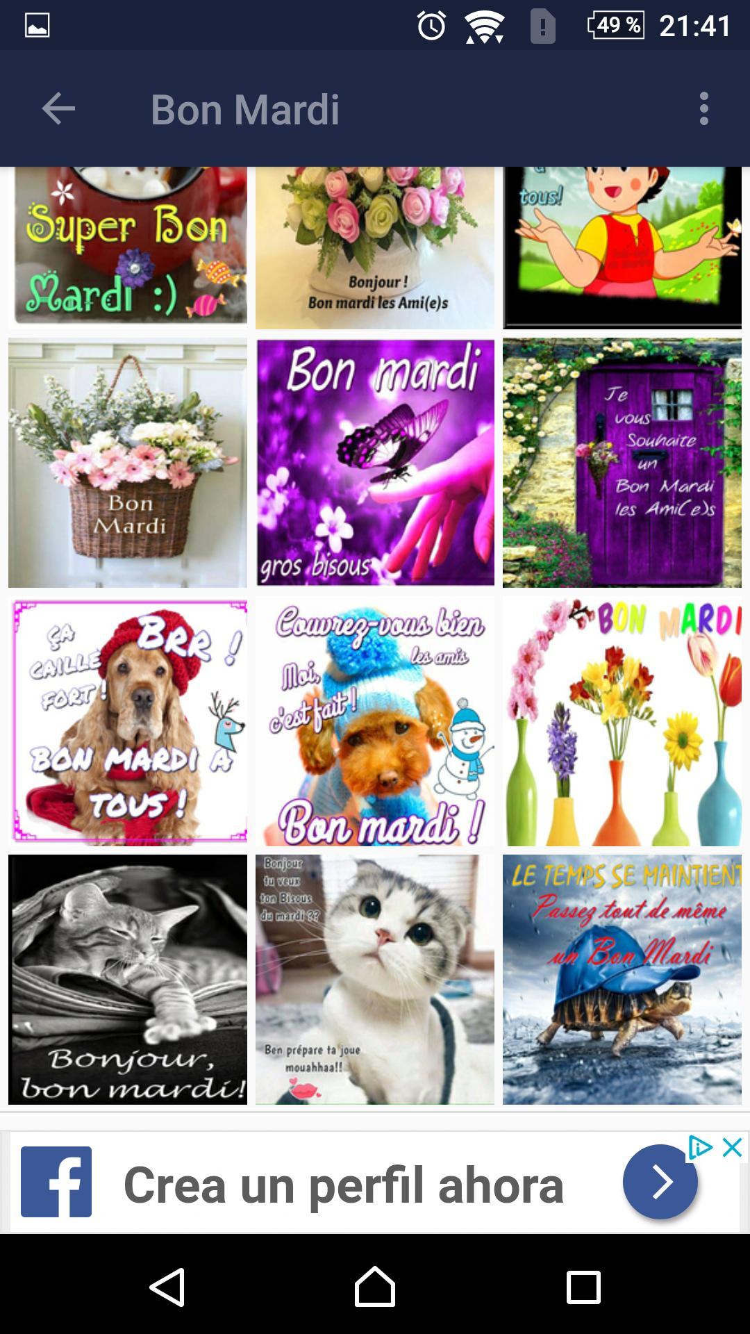 Bon Mardi Des Images Et Des Phrases для андроид скачать Apk