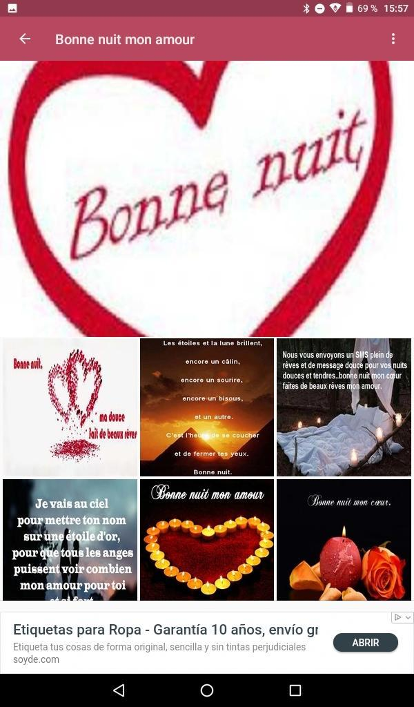 Bonne Nuit Mon Amour For Android Apk Download