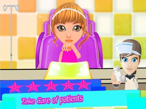 Trò chơi bác sĩ tiêm khẩn cấp cho bé gái ảnh chụp màn hình 1