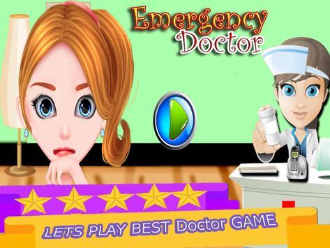 Trò chơi bác sĩ tiêm khẩn cấp cho bé gái ảnh chụp màn hình 3