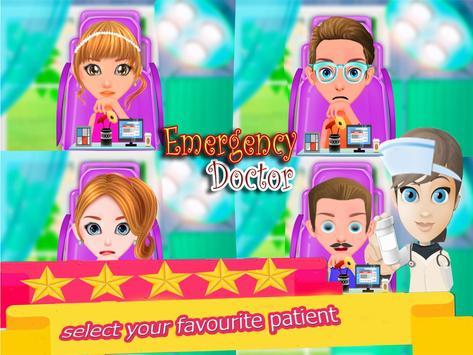 Trò chơi bác sĩ tiêm khẩn cấp cho bé gái ảnh chụp màn hình 4