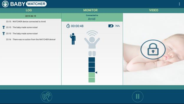 Baby Monitor - Babywatcher capture d'écran 8