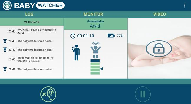 Baby Monitor - Babywatcher capture d'écran 13