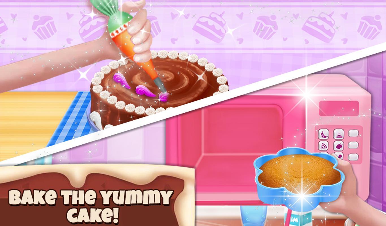 Aadhya Birthday Cake Maker Cooking Game Screenshot 10