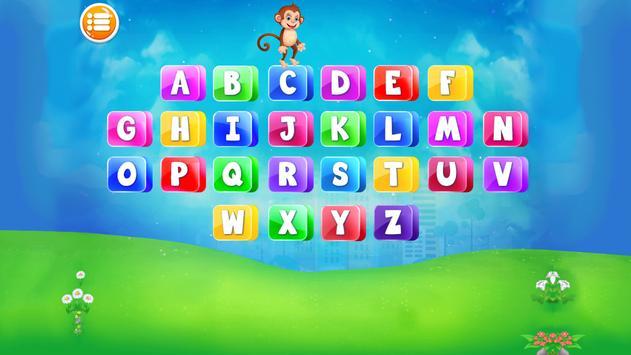 Preschool Alphabets A to Z Fun : Kids ABC Game screenshot 19