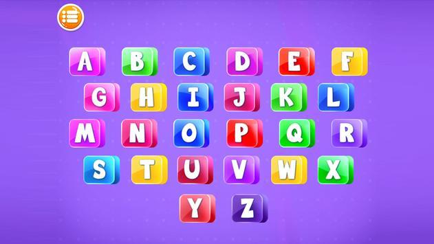 Preschool Alphabets A to Z Fun : Kids ABC Game screenshot 1