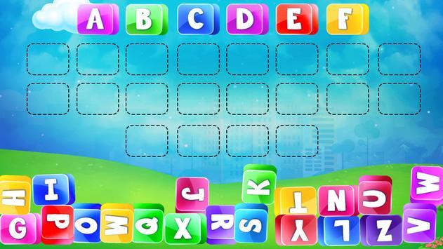 Preschool Alphabets A to Z Fun : Kids ABC Game screenshot 21