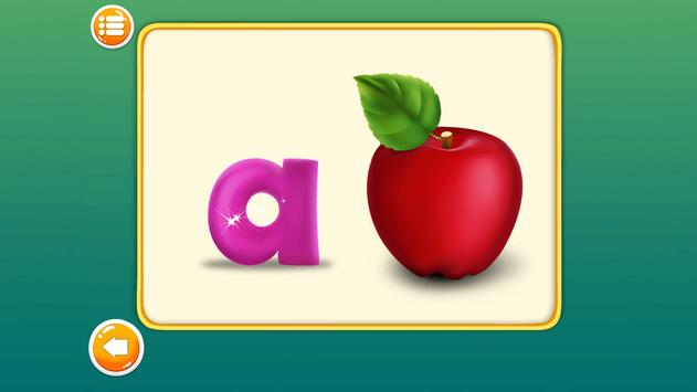 Preschool Alphabets A to Z Fun : Kids ABC Game screenshot 2