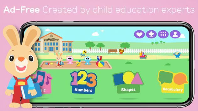 My First University: Baby Games, Alphabet & Shapes screenshot 7
