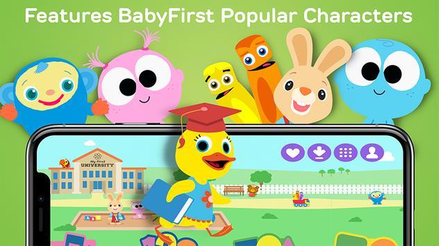 My First University: Baby Games, Alphabet & Shapes screenshot 13