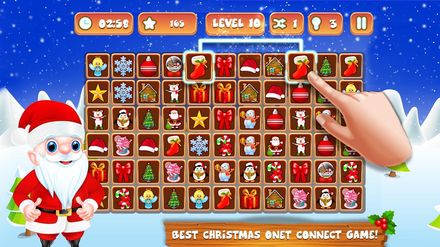 ... Onet Connect Links Christmas Fun Game screenshot 4 ...