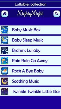 Nighty Night Baby Lullabies screenshot 8