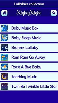 Nighty Night Baby Lullabies screenshot 3
