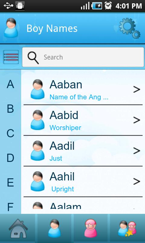 Baby Islamic Names & Meanings - Muslim Kids Names for Android - APK Download
