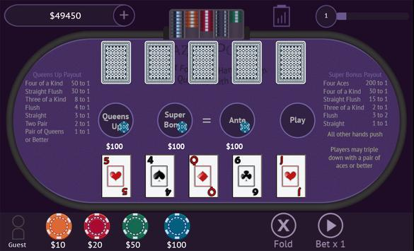 Crazy 4 Poker screenshot 8