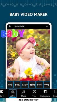 Baby Video Maker screenshot 1