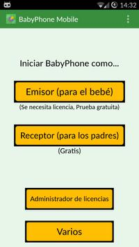 BabyPhone Mobile captura de pantalla 2