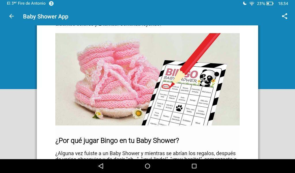 Baby Shower App for Android - APK Download