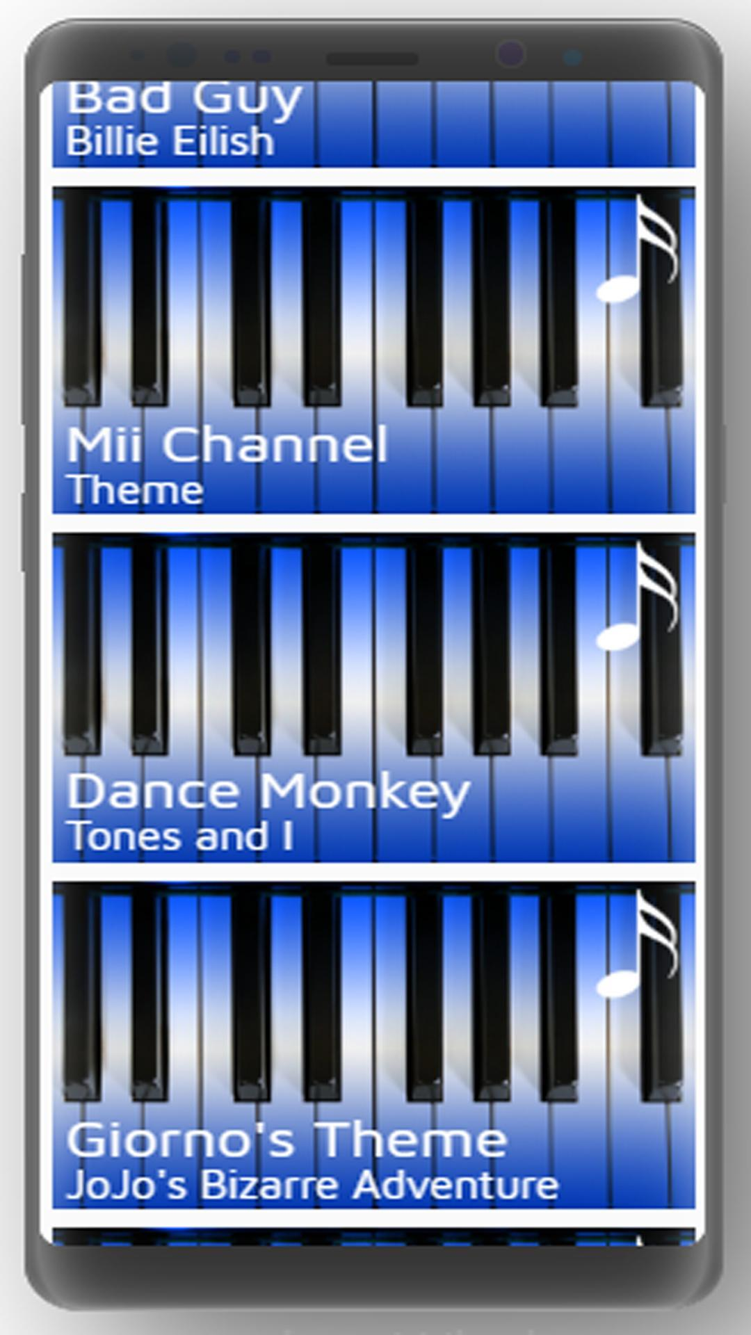 Piano Letter Notes For Android Apk Download