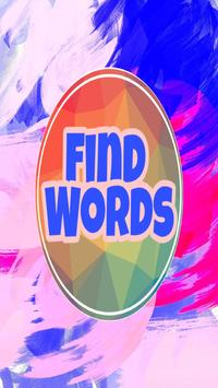Find Words 2018 poster