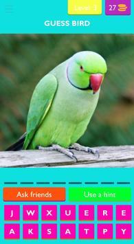 Guess Bird screenshot 3