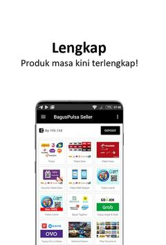 BagusPulsa Seller screenshot 1
