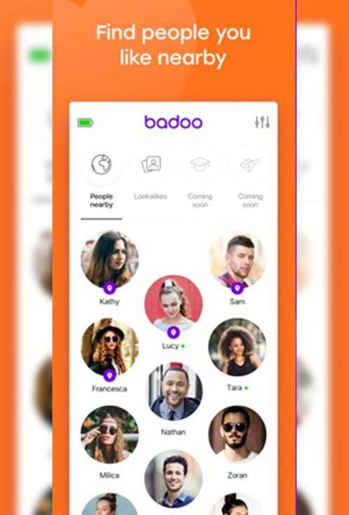Badoo chat room