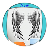 Angel Wings Tatto Wallpaper icon