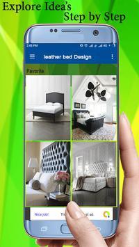 leather bed Design screenshot 1
