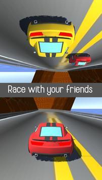 2 Player Racing 3D screenshot 1