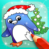 ikon Happy Kids Animated Christmas Coloring Book