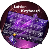 Latvian keyboard icon