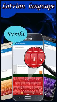 Latvian keyboard screenshot 2
