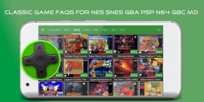 Faqs Emulators For Gba Snes N64 For Android Apk Download