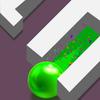 Maze Paint Puzzle - Amaze Roller Ball Splat Games иконка