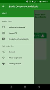 Saldo Consorcio Andalucía screenshot 3