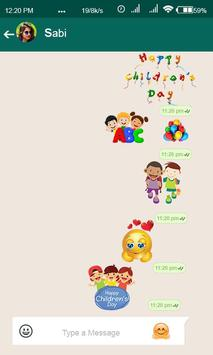 Stickers for Children's Day screenshot 3