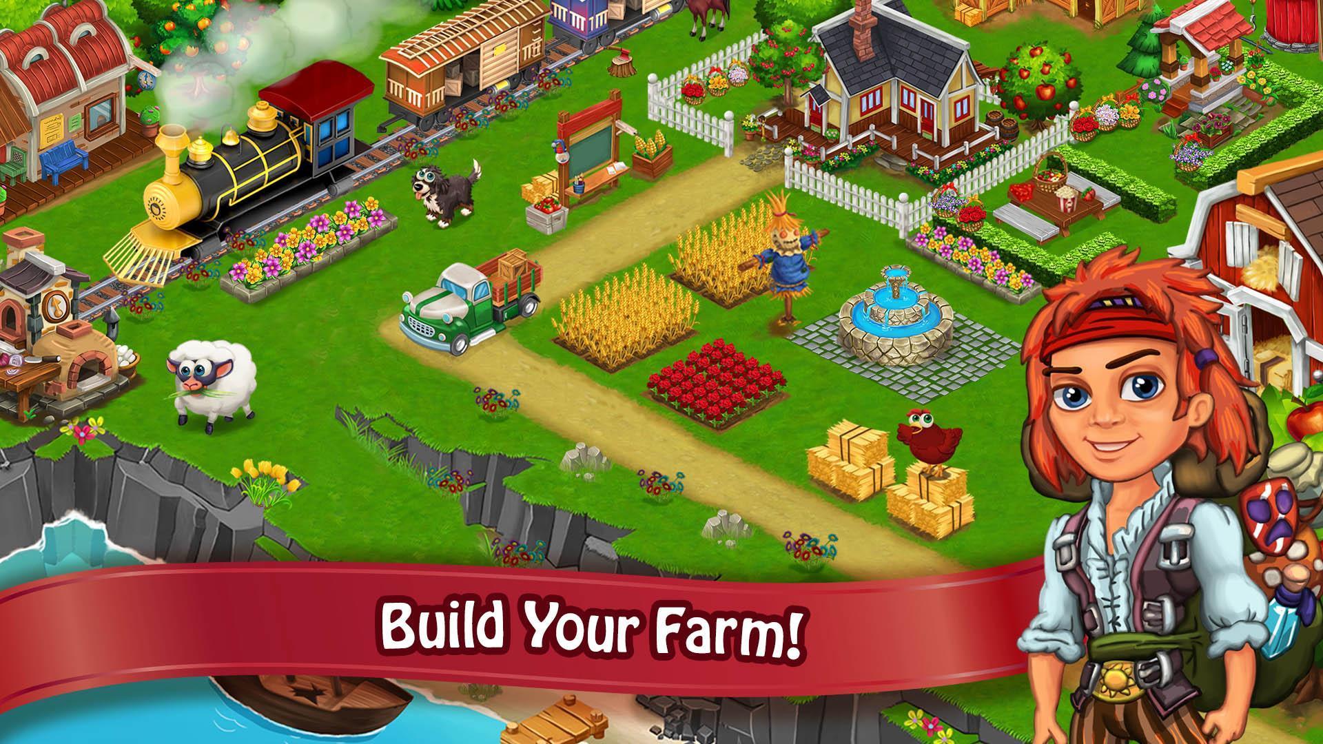 скачать мини игру счастливая ферма