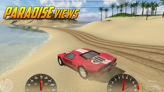 Island Racer poster