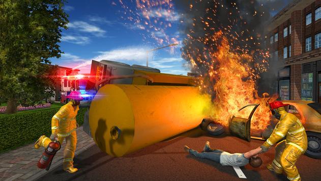 Fire Truck Game screenshot 1